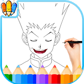 🇺🇸 Coloring book for Hunter x Hanter