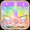 Rainbow Unicorn Keyboard Theme icon