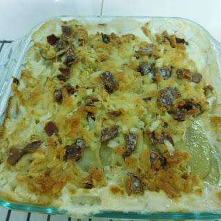 Swiss & Bacon Potato Casserole Recipe