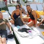 my friends at Mondrian Hotel in Miami, Florida, United States
