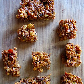 No Bake Peanut Butter and Jelly Bars.