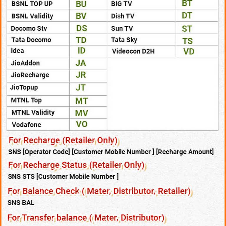 सेनसोल - Mobile Recharge API, sanesoul multi recharge and