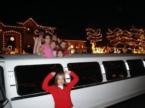 Photo: Limo Christmas Light Tour Sunshine Limo Service 541 344-5466 www.SunshineLimoService.com