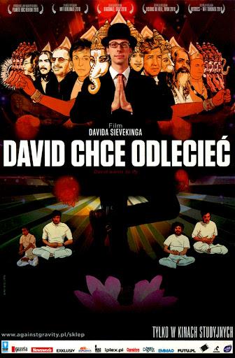 Przód ulotki filmu 'David Chce Odlecieć'