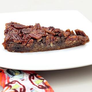 Grain-free Maple Bourbon Pecan Tart – Gluten-free + Dairy-free
