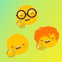 rock paper scissor -Emoji and Avatar icon
