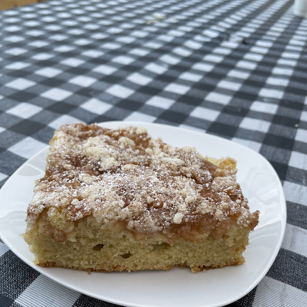 The must try coffee cake!!!