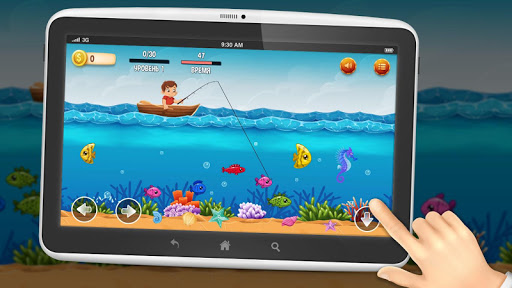 Fishing for kids - fishing on a boat screenshots 1