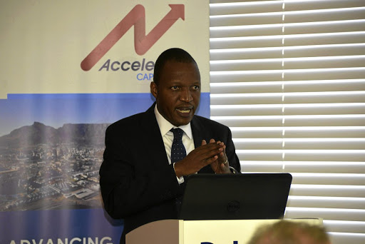 Lower cost: Monale Ratsoma, Africa regional head of the NDB, says the first loans will be for renewable energy projects. Picture: HETTY ZANTMAN