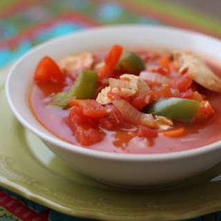 Spicy Chili Chicken and Vegetable Soup