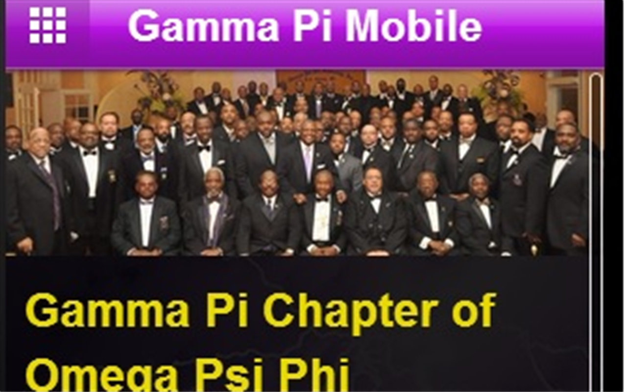 Gamma Pi Mobile- screenshot