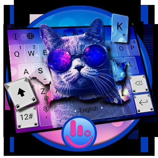 Hipster CatKeyboard Theme