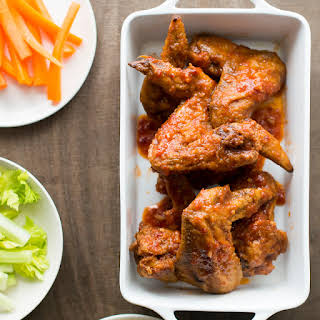 Garlicky Chicken Wings.