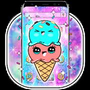 Free Galaxy Yummy Ice Cream Theme APK for Windows 8