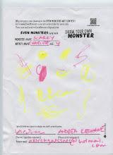 "Photo: ""Scarey"" by Charlie, age 4"