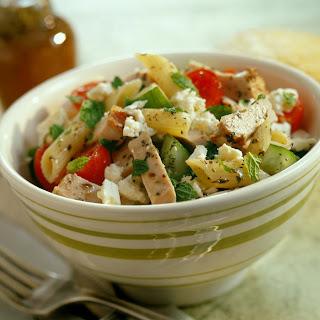 Mediterranean Pasta Salad.