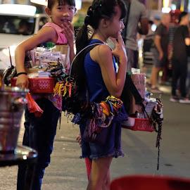 Kids Market by Beh Heng Long - Babies & Children Children Candids ( market )