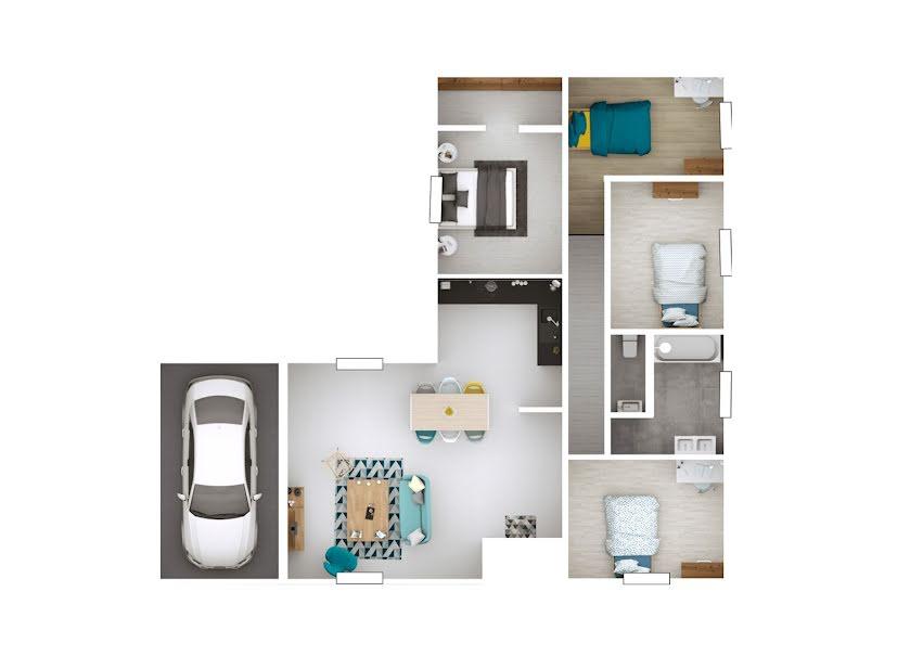 Vente maison 5 pièces 105 m² à Chevroux (01190), 205 182 €