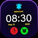 Smart Night Watch : Night clock Wallpapers HD icon