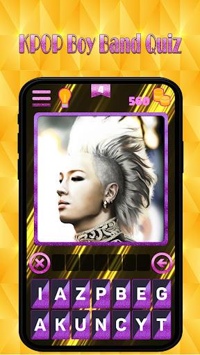 Kpop new boy band quiz : Guess superstar songpop 1.4 screenshots 1