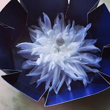Photo: цветок из шелка на платье