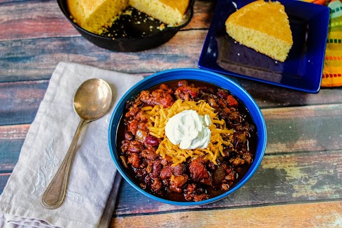 Crock Pot Pumpkin and Turkey Chili