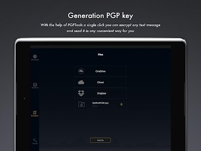 PGPFiles- screenshot thumbnail
