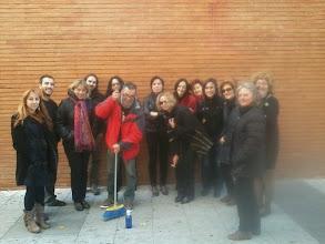Photo: viernes 15 noviembre 2013 barriendo a la Botella