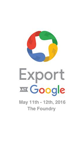 Export Google 2016