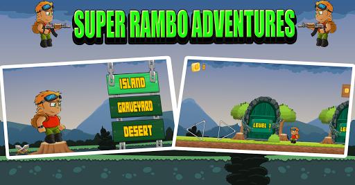 Super Rambo Adventures apkmind screenshots 1