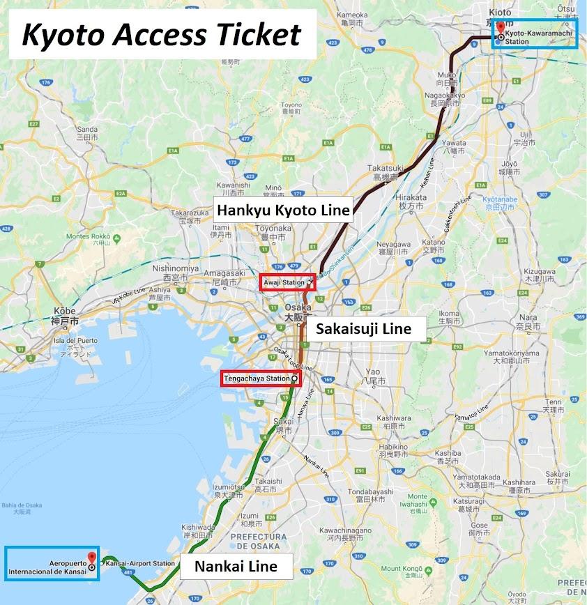 Kyoto Acess Ticket