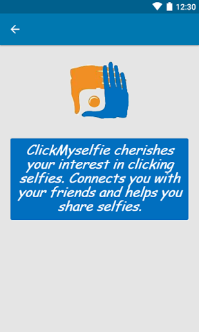 android ClickMySelfie Screenshot 3