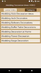 Wedding decoration ideas video apps on google play screenshot image junglespirit Choice Image
