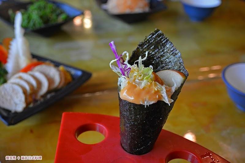 南投福井日式料理魚卵手捲