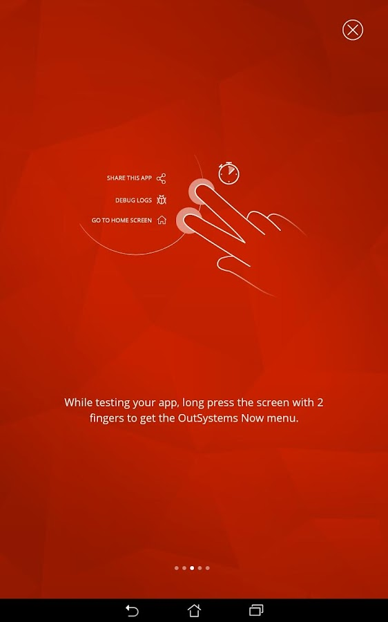 OutSystems Now- screenshot