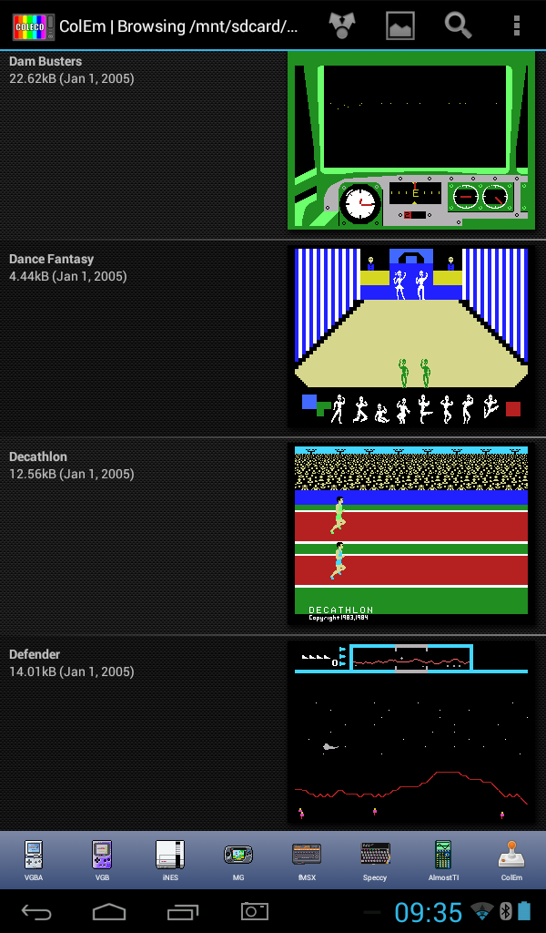 ColEm Deluxe - Complete ColecoVision Emulator Screenshot 10
