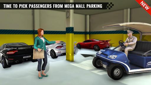 Shopping Mall Smart Taxi: Family Car Taxi Games 1.1 screenshots 9