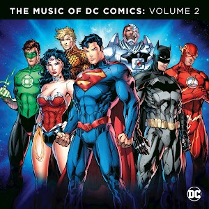 Image result for the music of DC comics vol 2 vinyl art