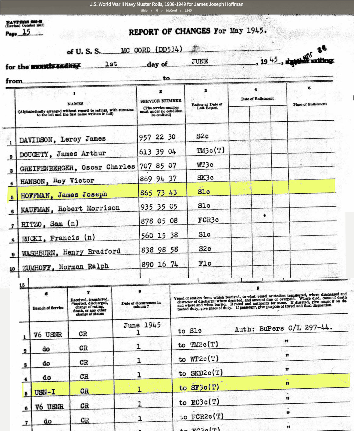 James Joseph Hoffman Rating Change JUN 45.jpg