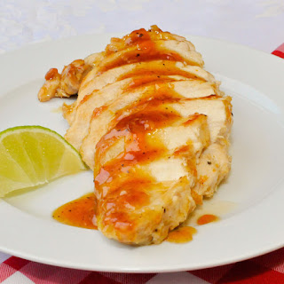 Glazed Lime Apricot Chicken Breasts