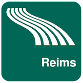 Carte de Reims off-line