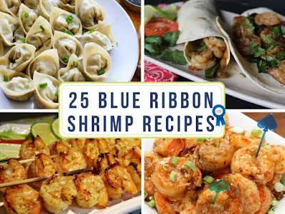 25 Blue Ribbon Shrimp Recipes