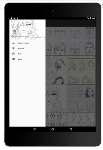 Face Drawing Step by Step 1.3.0 screenshots 14