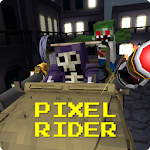 Pixel Rider - Zombie Shooter Icon