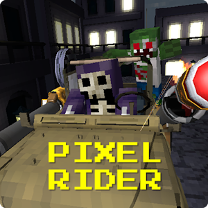 Pixel Rider – Zombie Shooter for PC and MAC