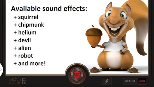 Video Voice Changer FX 1.1.5 screenshots 2