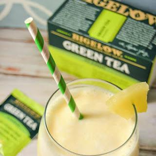 Pinapple Green Tea Smoothie