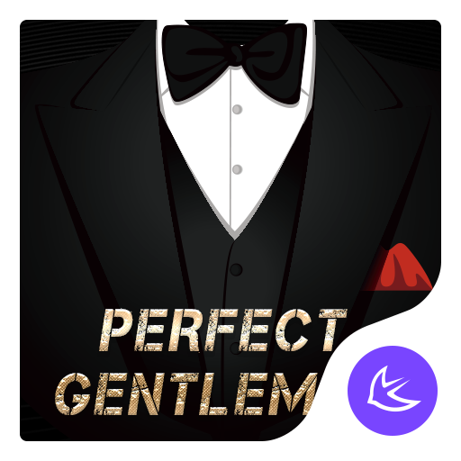 Gentleman-APUS Launcher theme for Andriod Icon