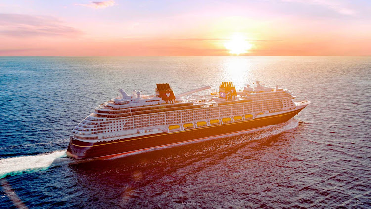 Disney Wish debuts in summer 2022 with 3- and 4-night sailings to the Bahamas.