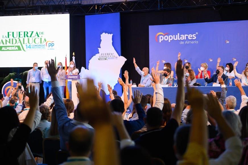 El Partido Popular almeriense celebra estos días su congreso.
